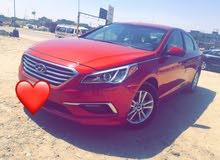 Red Hyundai Sonata 2017 for sale
