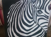 لوح فنية إبداعية بريشة رسامة يمنية