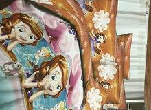 بيع لحافات  اطفال مزدوج تركى  بطقمين سرير ( 8 قطع )