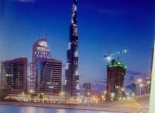 استوديو 500م  للبيع فى الميدان مقابل برج خليفه ع القناه المائيه