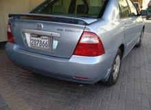 للبيع تويوتا كورولا 2007 GLi مع رقم ممز