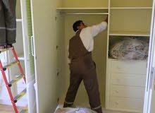 نجارين فنين تركيبات ايكياميداس أبيات وتصليح غرف النوم والكبتات داخل المنزل