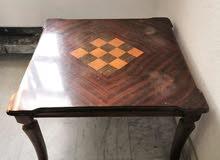 طاولة وسط خشب