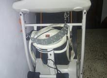 جهاز هزاز متع صالات رياضه مستعمل شوي ومعه جهاز السير للتخسيس وتنقيص الوزن