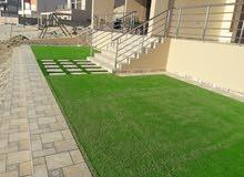 تنسيق وصيانة الحدائق توريد وتركيب الثيل الصناعي