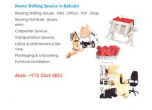 Residential and commercial shifting services in Bahrain