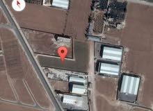 للبيع ارض 2 دونم صناعات متوسطة شارع الميه الجديد