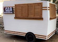 كرفان مطعم متنقل food truck