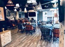 مطعم كافيه بسكليتة للبيع او التضمن