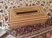 Iranian handy made Tissu box