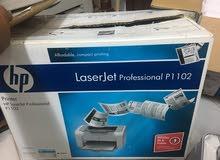 طابعات Hp laser jet p1102 جدد