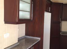 شقة فارغة للايجار الرابية شبة أرضي مع حديقة سوبر ديلوكس 3نوم 3حمام صالون 375 شهر