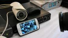 فني تركيب وصيانة كاميرات مراقبة للمنازل و الشركات و المصحات و المزارع والصيدليات