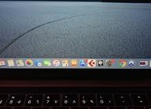 black Macbook pro 18
