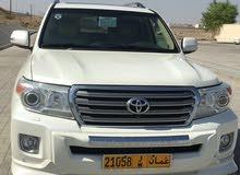 For sale 2014 White Land Cruiser