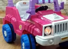 سيارة اطفال يقودها الطفل بنفسه او بريموت كنترول بسرعتين