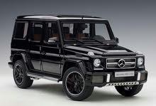 مجسم مرسيدس جي كلاس 63 ايه ام جي موديل 2017 لون اسود / Mercedes G63 AMG 2017 Gloss Black