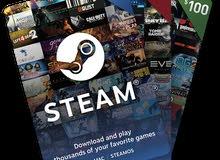 بطاقات steam gift card بأفضل الأسعار