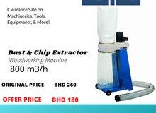 New Scheppach Dust & chip extractor on Sale