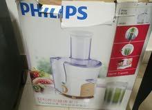 عصارة من Philips بكامل قطعها