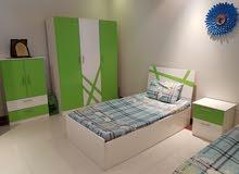 غرفة اطفال سريرين