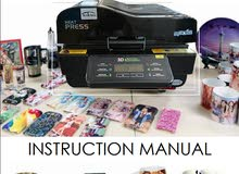 All in one Printer Machine 3d Heat Press Sublimation Vacuum Transfer