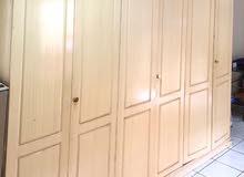 SOLID WOODEN 6 DOOR CUPBOARD WITH 12 RACKS FOR URGENT SALE