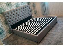 Brand New Linen Fabric Storage Bed Frame