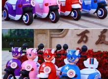 دراجات اطفال على الشحن
