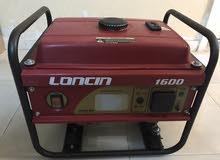 مولد كهرباء بنزين من شركة لونسن قوة 1600 1كيلو