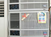 للبيع اجهزة كهربائي مكيفات شباك واسبلت مع التركيب حار بارد