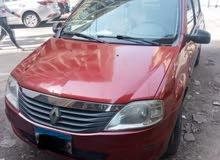 للبيع سيارة رينو لوجن ( 1500 سي سي ) 90,000ج