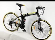 دراجات هوائيّة جبليه قابله للطي مقاس26