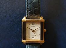 ساعة  كاسيو كوارتز يابانية اصلية حريمية جميلة وبسيطة