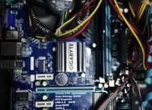 PC components bundle for sale: motherboard, ram, power supply...