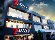 محل يشمل 3 طوابق للملابس النسائيةللماركات عالمية