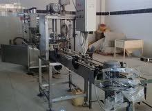 مصنع تعبئة مواد غذائية بخط الانتاج برخصة تشغيل كامل المرافق