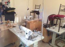 عدد و مكائن مشغل خياطة للبيع