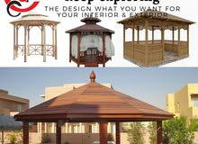 Luxury Patio Wooden Gazebo Designers & Manufacturers in Dubai