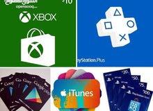 google play .ps4 .xbox .iTunes
