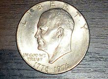 واحد دولار امريكي فضي