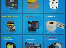 استيراد وتوريد جميع انواع شرائط و طابعات الليبل Label tape / Label Printer
