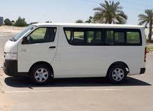 للايجار الشهرى او اليومى  تويوتا هايس 14 راكب وتويوتا كوستر 30 راكب باسعار جيدة