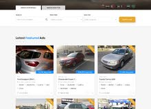 موقع إلكتروني لنشر إعلانات لبيع سيارات و المزايدة