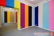 دهان جدران غرف اطفال اللوان سبر