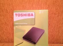 مجموع 3 هاردسكات Toshiba  الفين قيقة  2Tb مكرشمات