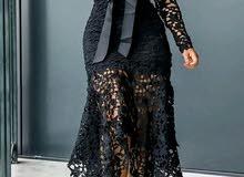 فستان قماش البولي ؛ البوليستر