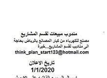 مطلوب مندوب مبيعات لقسم المشاريع لمصنع للكهرباء think_plan_start123@hotmail.com