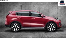 Kia Sportage 2018 For Rent - Red color