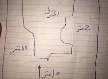 منزل للبيع مساحه المسقوف 300 متر مساحه الجنان 450 متر